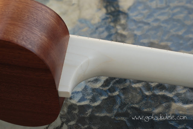 Bruno 6 soprano ukulele neck