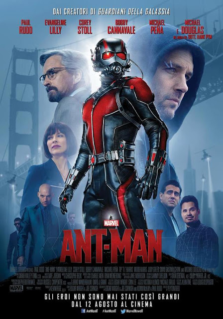 Ant-Man recensione poster
