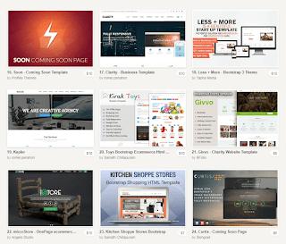 creativemarket шаблоны сайтов HTML