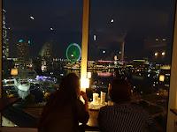 Minato Mirai night view restaurant