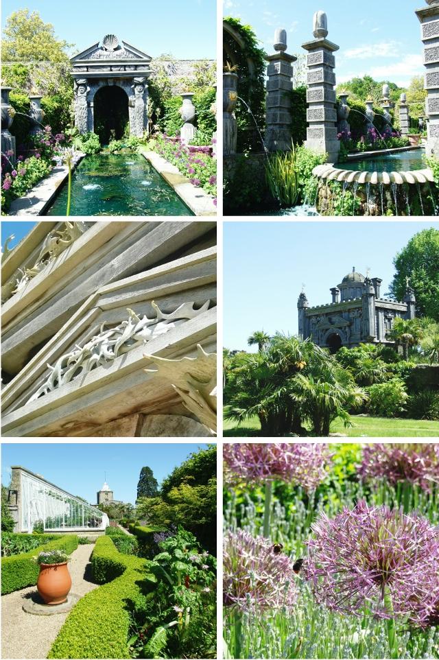 Arundel Castle Gardens, Sussex.