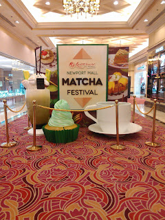 The Country's First Ever Matcha Festival At Newport Mall in RWM