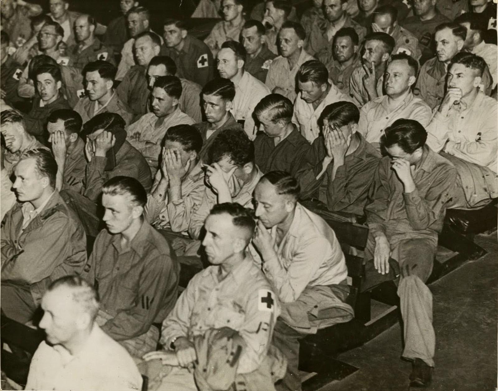Image result for soldiers crying after seeing jews