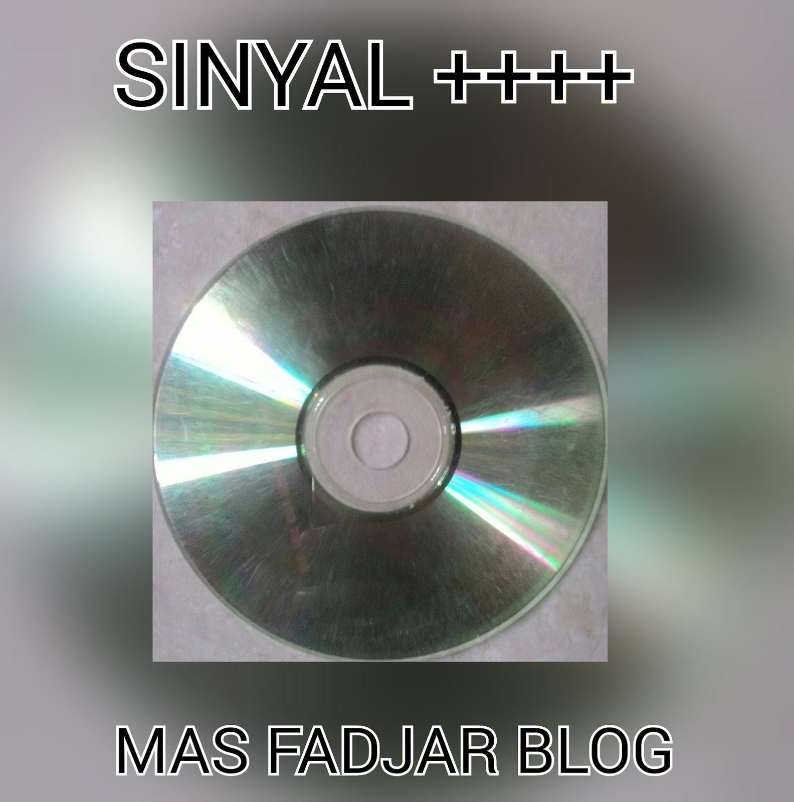 kepingan cd untuk membuat sinyal kuat