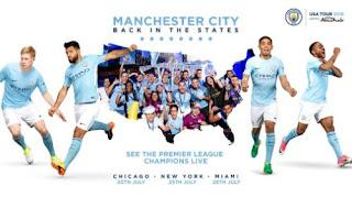 Manchester City Tur Pramusim 2018-2019 di Amerika Serikat