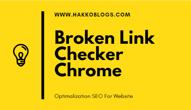 Broken link Checker Chrome