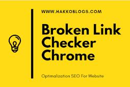 Broken link Checker Chrome