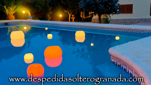 Despedida De Soltera En Casa Decoracion Aperitivos Originales Y - Decoraciones-de-piscinas