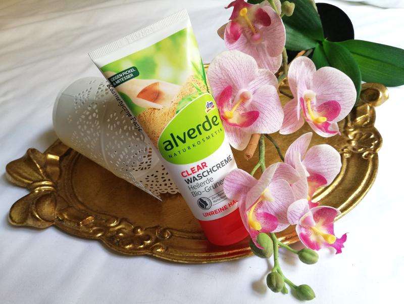 krem do mycia twarzy alverde