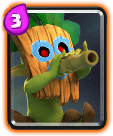 Carta Goblin com Dardos Clash Royale - Cards Wiki
