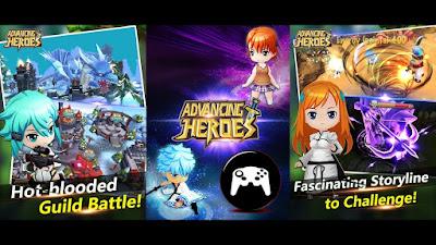 Advacing Heroes v.0.0.0.7 Apk Mod One Hit Kill Terbaru