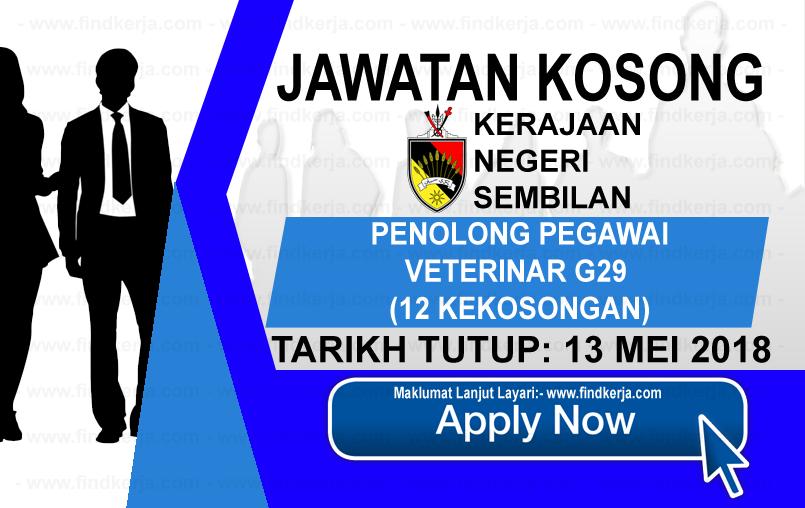 Jawatan Kerja Kosong Pejabat Setiausaha Kerajaan Negeri Sembilan logo www.findkerja.com mei 2018