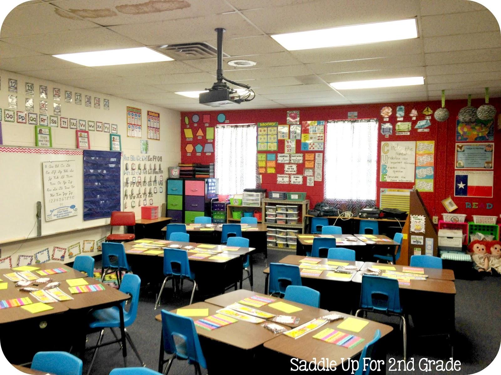 Classroom Tour 2014 Saddle Up For Second Grade