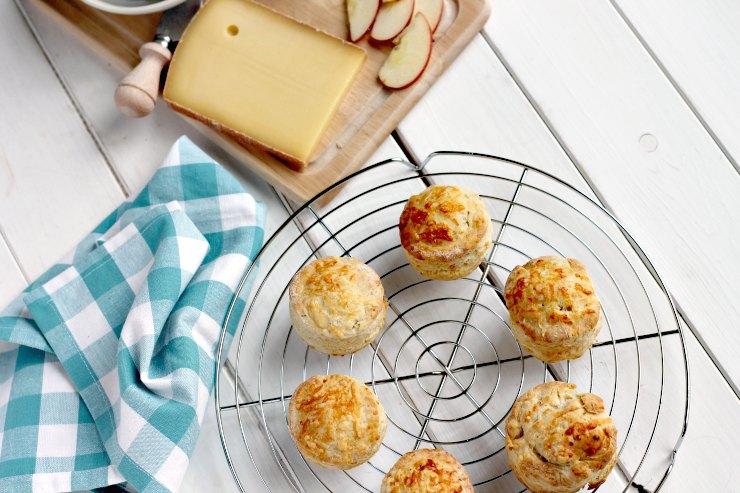 Comté Cheese Ploughmans Scones