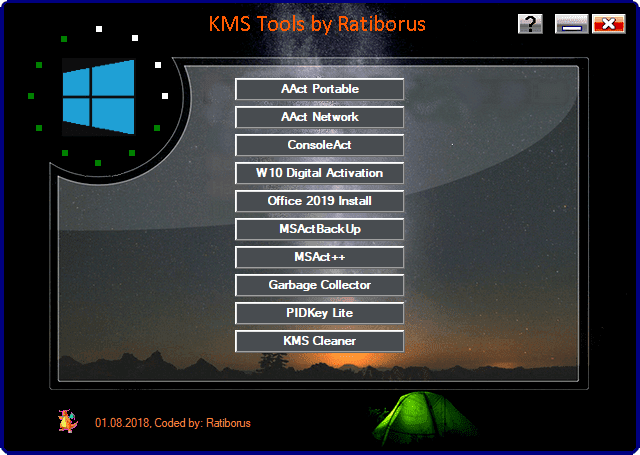 Ratiborus KMS Tools 2018