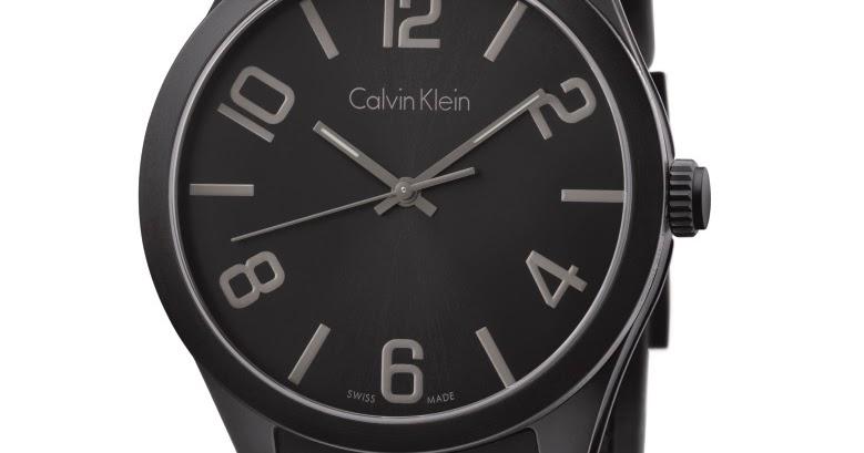 2693b8f71bc Calvin Klein Watches relança modelo queridinho dos anos 90 ...