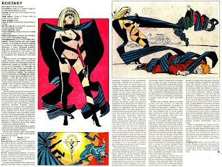 Extasis (ficha marvel comics)