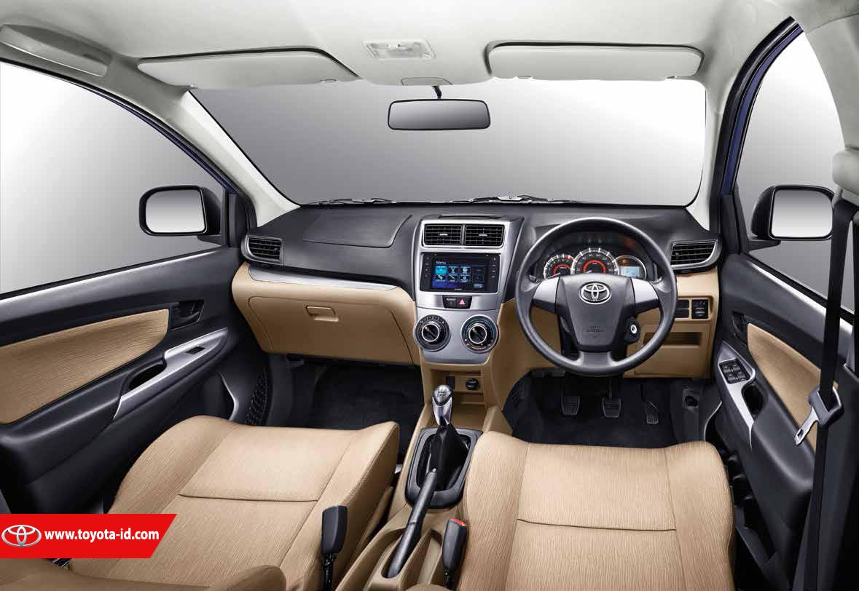 grand new avanza 1.3 e std brosur 2018 perbedaan toyota 1 3 dengan g astra interior pada bagian panel pintu kanan dan kiri untuk tipe juga menggunakan warna hitam sama seperti audio unit