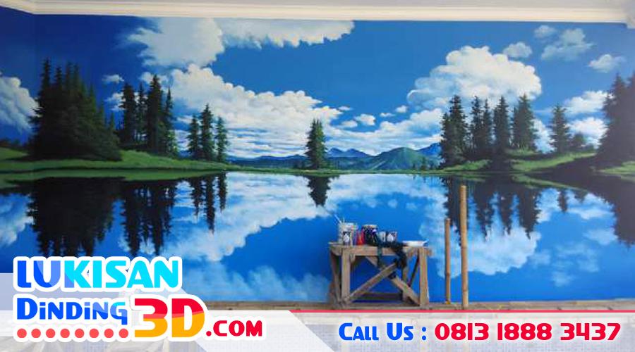 contoh lukisan dinding