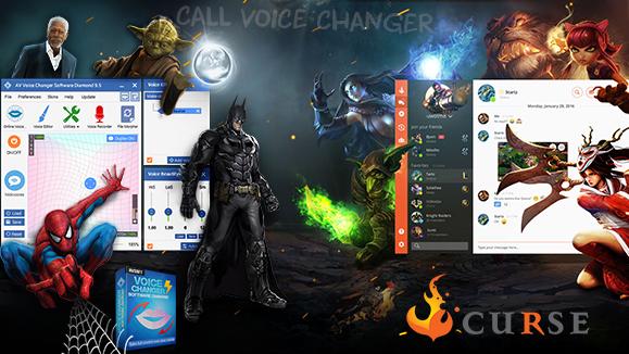 Curse voice changer