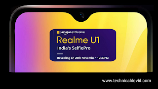Realme U1 features and specifications