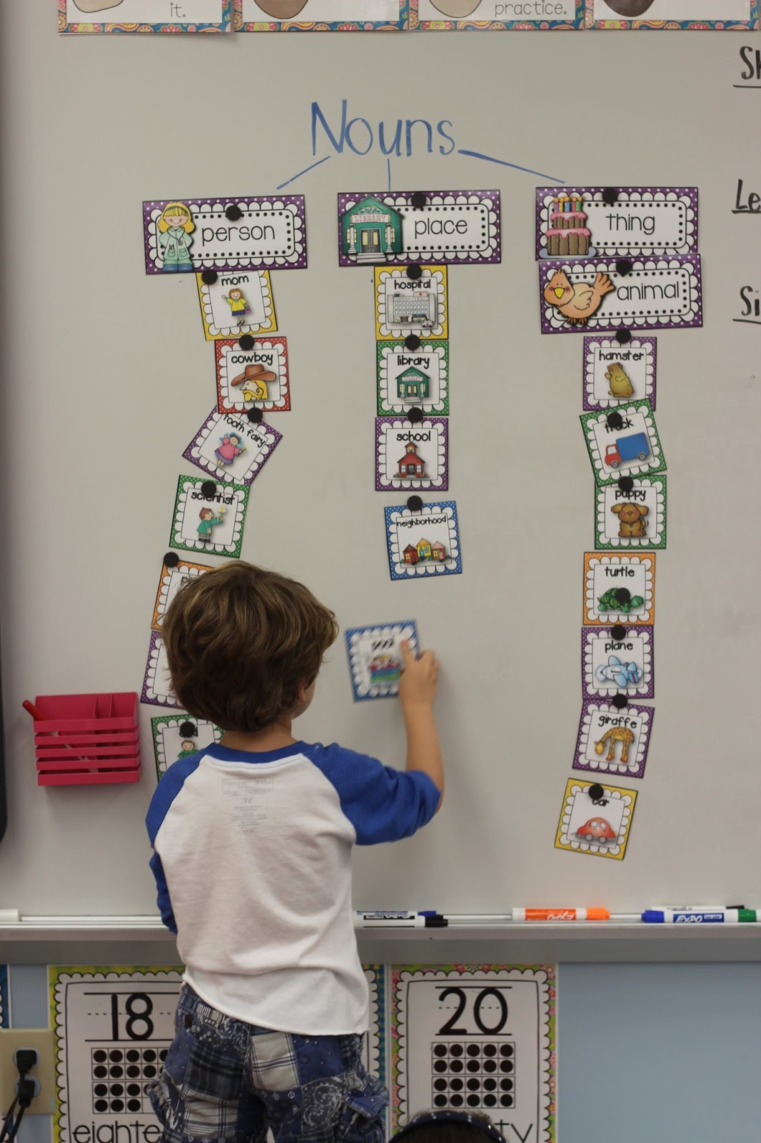Teaching Nouns In Kindergarten