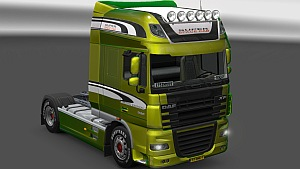 Limited Edition Metallic skin for DAF