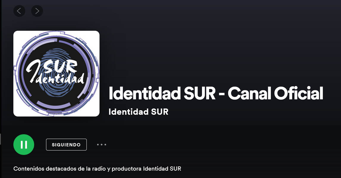CANAL OFICIAL SPOTIFY