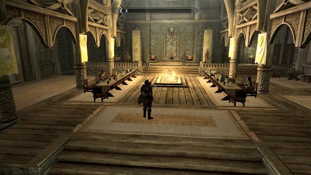 The Elder Scrolls V: Skyrim | Castle Hall