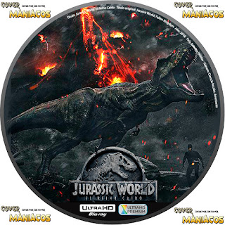 GALLETA JURASSIC WORLD: FALLEN KINGDON - JURASSIC WORLD: EL REINO CAIDO - 2018