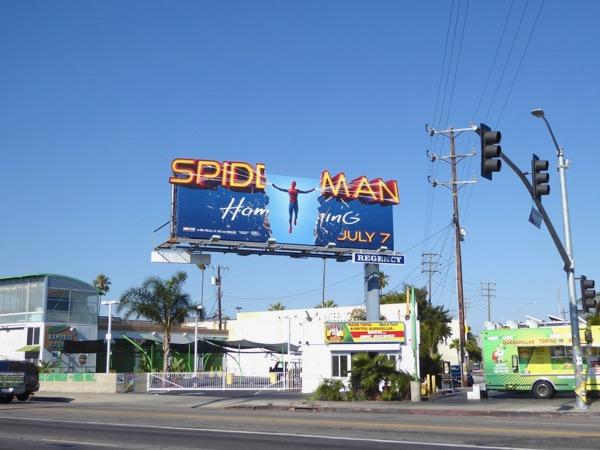 Spiderman Homecoming extension billboard