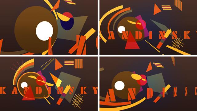 kandinsky, benjamin casanova, diseno grafico, concepcion del uruguay, motion graphics