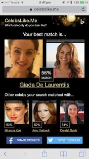 My Celebrity Match - Giada De Laurentis