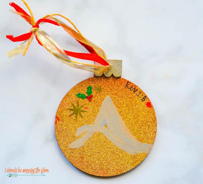 Jesse Tree Ornament Day 1