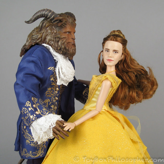 How To Create Belles Hairstyle From Beauty And The Beast : Iu003ebeauty and the beastu003c iu003e dolls from hasbro disney store