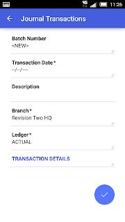 Acumatica Mobile Custom Screen