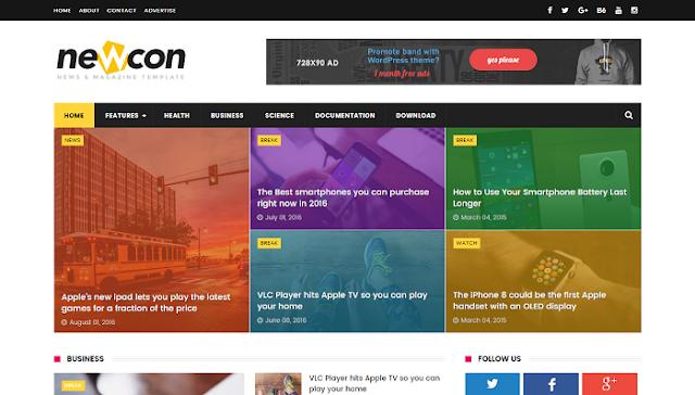 Newcon Blogger Teması