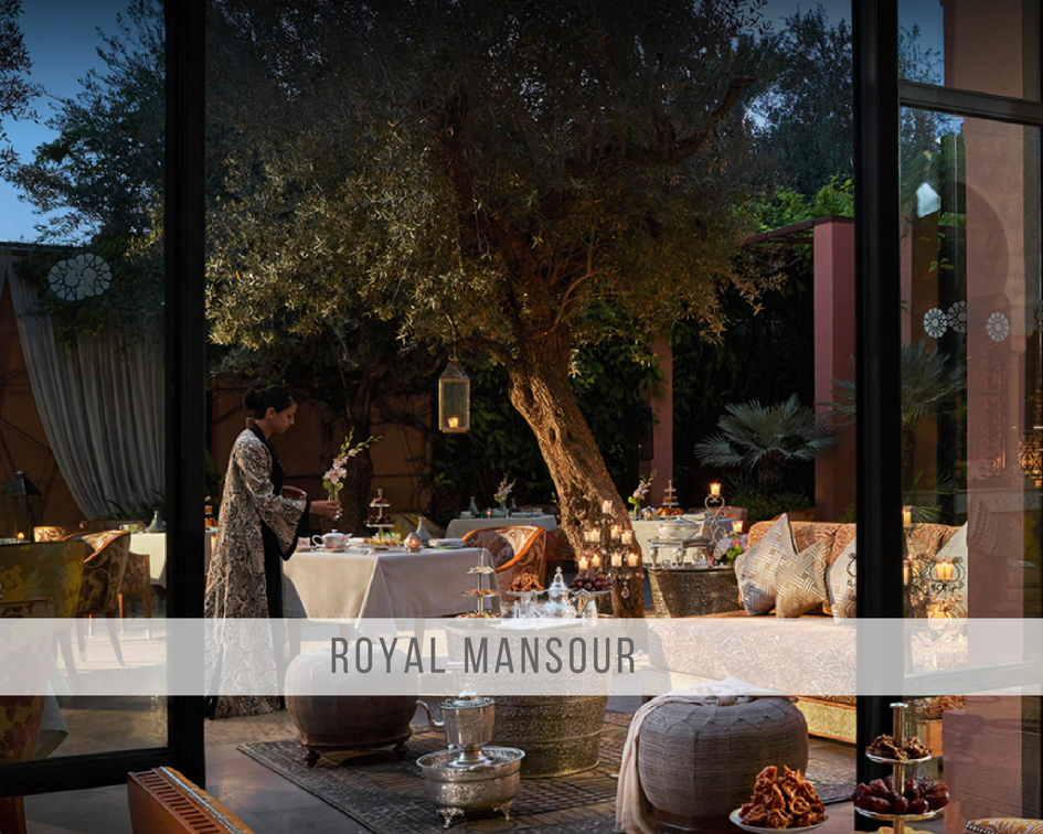 the magical world of Royal Mansour
