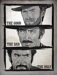 Poster Of Hollywood Film The Good, the Bad and the Ugly (1966) In 300MB Compressed Size PC Movie Free Download At worldfree4u.com