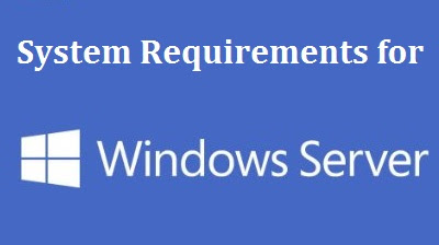 Windows Server 2012 R2 System Requirements