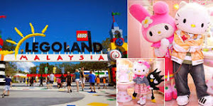 Theme Park Imut Hello Kitty Land Johar Baru