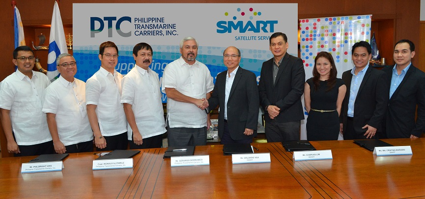 PTC and Smart join forces to better serve Filipino seafarers