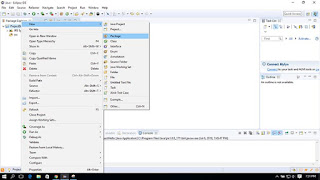 Membuat package java di eclipse