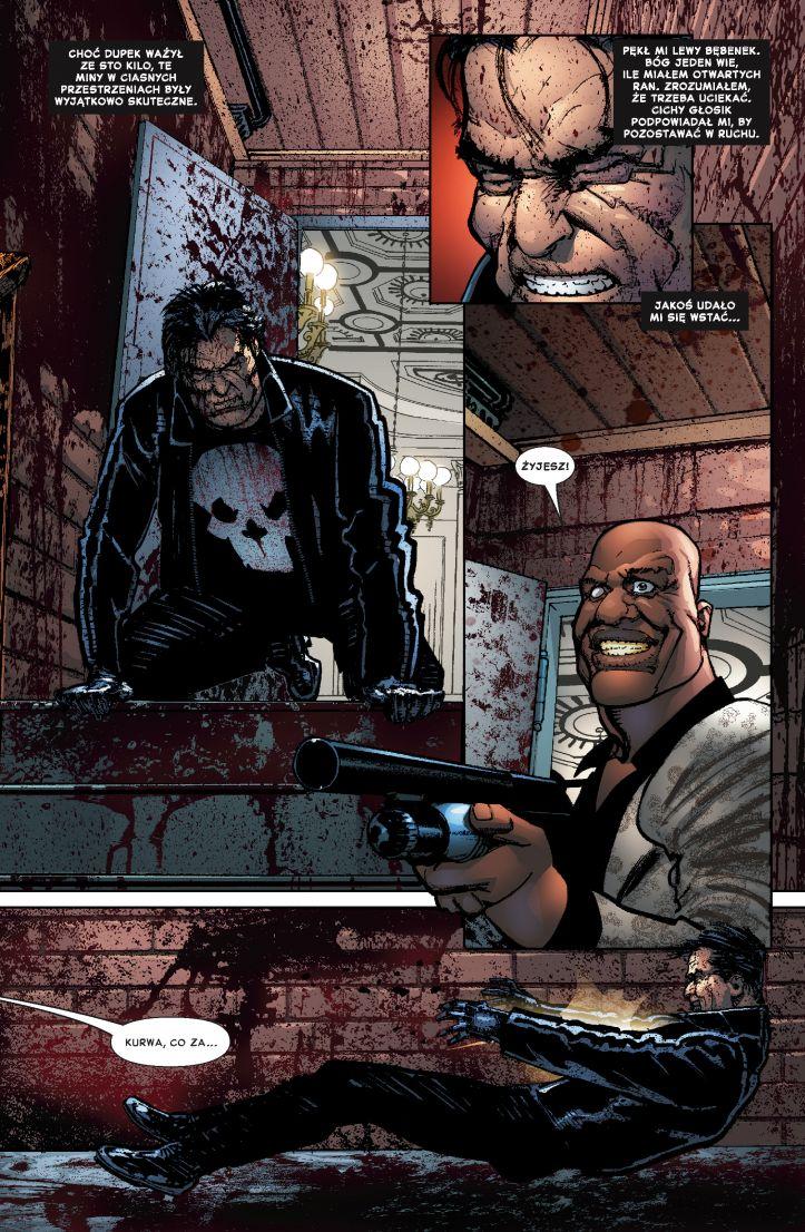 Punisher MAX tom 5 przykładowa strona