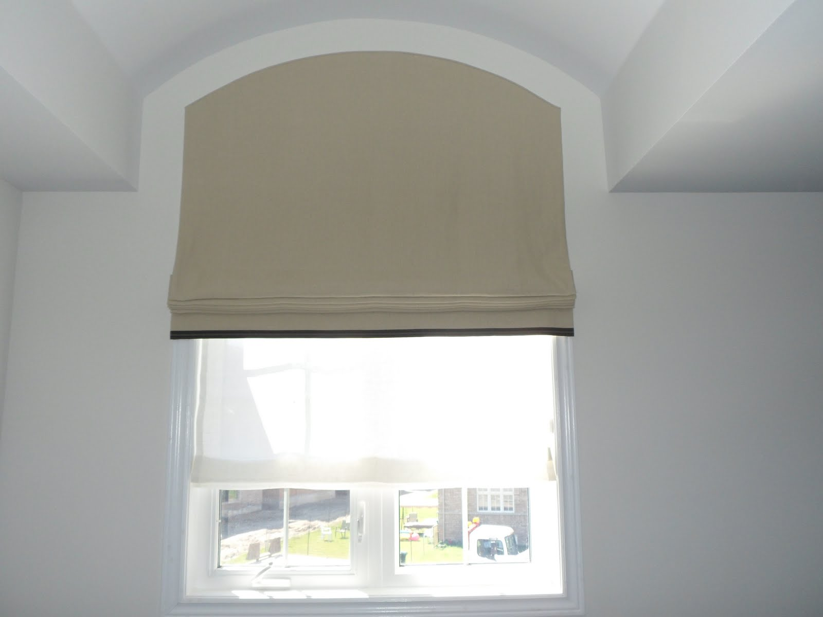 Jade Creative: Palladian Window Covering