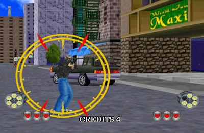 Virtual Cop 2 Game