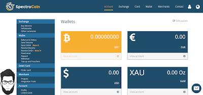 شرح طريقة فتح حساب في موقع SpectroCoin لعمل بطاقة بنكية وهمية تمكنك من شراء حساب جوجل بلاي