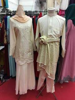 baju kahwin pengantin songket