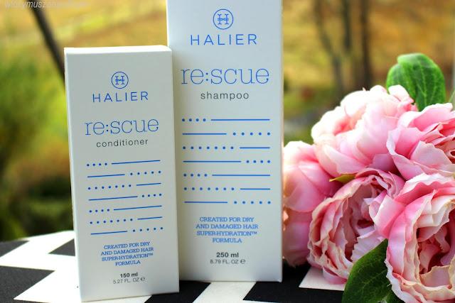 Halier Re:scue – czyli kompleksowa pielęgnacja włosów suchych i zniszczonych