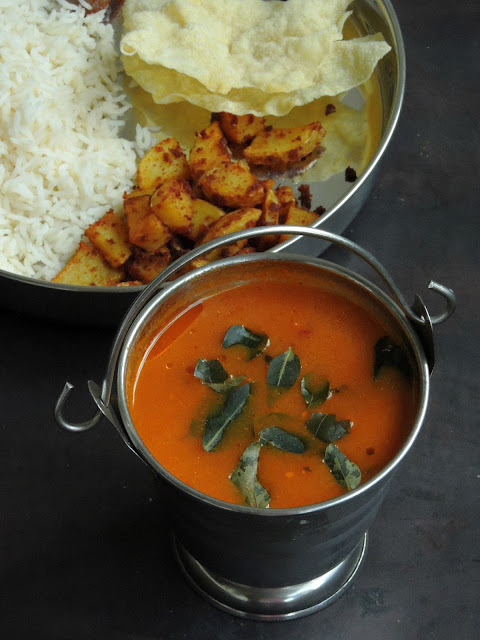 Tomatar Saar, Tomato Curry